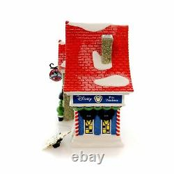 Department 56 North Pole Village Mickey's Pin Traders Lighted House, 8.18