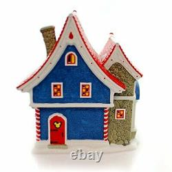 Department 56 North Pole Village Mickey's Pin Traders Lighted House 8.18
