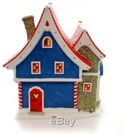 Department 56 North Pole Village Mickey's Pin Traders Lighted House, 8.18, New