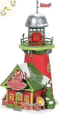 Department 56 North Pole Village Rudolph The Red-Nosed Reindeer Blinking Beacon