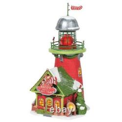 Department 56 North Pole Village Rudolph's Blinking Beacon Building 6005433 New
