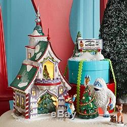 Department 56 North Pole Village Rudolph's S and G Tree Toppers Lit House, 8.66