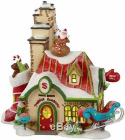 Department 56 North Pole Village Santa's Helpers Training Arcade