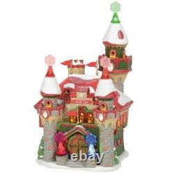 Department 56 North Pole Village Santa's Snowflake Palace Building 6005430 New