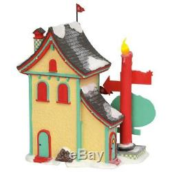 Department 56 North Pole Village Series Welcoming Christmas Candle-Light Inn