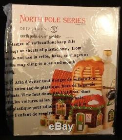 Department 56 North Pole Village Sizzlin' Griddle #4050965 NIB Sealed