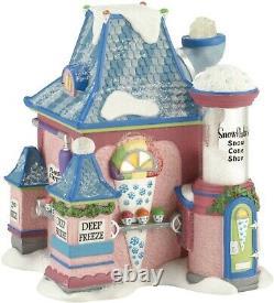 Department 56 North Pole Village Snowflake's Snow Cone Shop Lit House 4030717