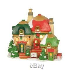 Department 56 North Pole Village The Bitsy Bungalows Building Figurine 6003108