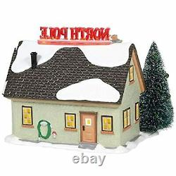 Department 56 Original Snow Village The North Pole House Lighted Building