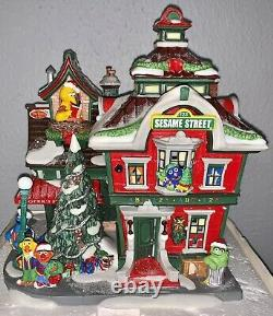 Department 56 Sesame Street at the North Pole Lighted Christmas Village House