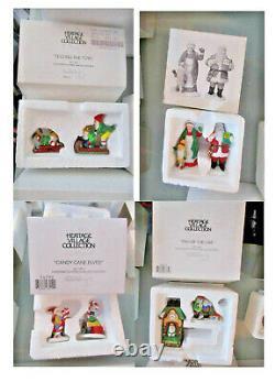Department 56 Snow Village North Pole Series 79 Pieces 22 Houses/Buildings