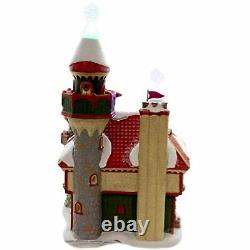 Department 56 Snow Village North Pole Series Santa's Snowflake Palace Building