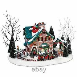 Department 56 Snow Village Santa's Wonderland House Lighted Building 5655359