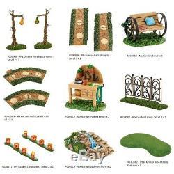 Department 56 Village My Garden Accessories Selection Spring Easter & Summer V2