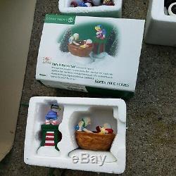 Department 56 Village North Pole Mill Creek Egg Nog Ford Christmas Rare Lot Sale