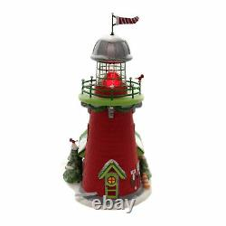 Department 56 Villages Rudolph's Blinking Beacon North Pole Series Reindeer