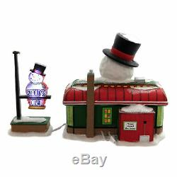 Department 56 Villages Snowy's Diner North Pole Series 6005429