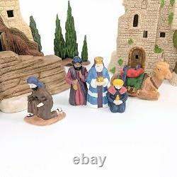 Department Dept 56 Little Town of Bethlehem Heritage Village Nativity Set
