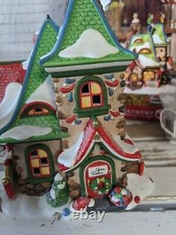 Dept 56 56778 Mrs Claus handmade Christmas stockings house village Xmas holiday