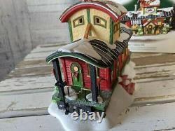 Dept 56 56896 tinkers caboose Cafe North Pole train house village Xmas