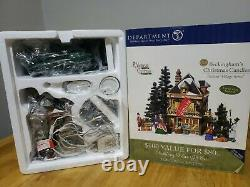 Dept 56 58748 Beckinghams Christmas Candles Store Shop Victorian Dickens Village