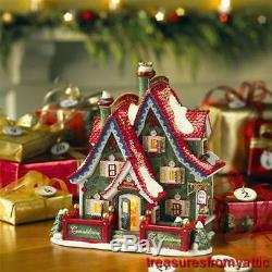 Dept 56 COUNTDOWN TO CHRISTMAS HEADQUARTERS 56798 NRFB Advent North Pole Village