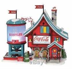 Dept 56 Christmas North Pole Village Coca Cola Bubbler # 6003110 New 2019