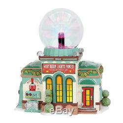 Dept 56 Christmas North Pole Village Northern Lights Power # 6003112 New 2019