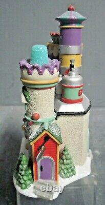 Dept 56 Christmas Snow Village North Pole Animated Yummy Gummy Gundrop Factory