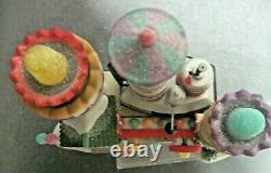 Dept 56 Christmas Snow Village North Pole Animated Yummy Gummy Gundrop Factory