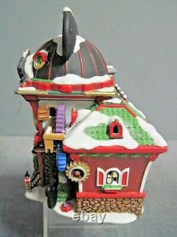 Dept 56 Christmas Snow Village North Pole Mickey Mouse Watch Factory
