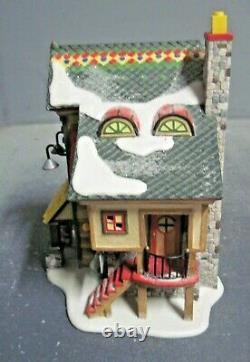 Dept 56 Christmas Snow Village North Pole Series Lego Building Creation Station