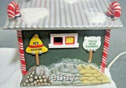 Dept 56 Christmas Snow Village North Pole Series North Pole Maintenance