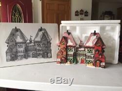 Dept. 56 Dicken's Village RETIRED North Pole Dolls & Santa's Bear Works