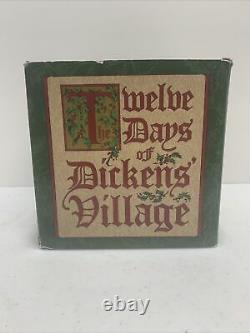 Dept 56 Dickens Village 12 Days Of Christmas 12 Drummers Drumming #58387