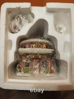 Dept 56 Fretta's Fruit Cake Company Bakery Elf Land North Pole Christmas Village