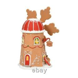 Dept 56 GINGERBREAD COOKIE MILL North Pole Village 6007610 NEW 2021 IN STOCK