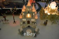 Dept 56 Huge lot buildings, accessories, Snow Village, Heritage, North Pole Serie