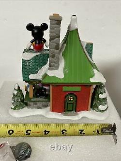 Dept 56 MICKEY'S STUFFED ANIMALS North Pole Village Donald Minnie 6007614 NEW
