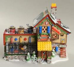 Dept 56 N POLE VILLAGE LEGO BUILDING CREATION STATION