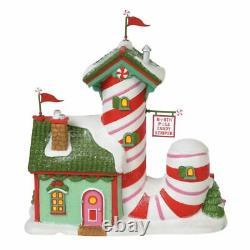 Dept 56 NORTH POLE CANDY STRIPER North Pole Village 6000613 BRAND NEW IN BOX