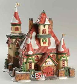 Dept 56 NORTH POLE VILLAGE Home Mr & Mrs Claus 7667484