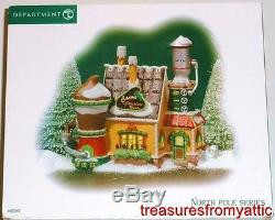 Dept 56 NP COCOA CHOCOLATE WORKS #805545 NRFB North Pole Village Hot