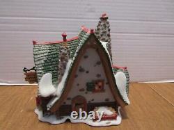 Dept. 56 North Pole 2002 Hand Carved Nutcracker Factory #56.56753