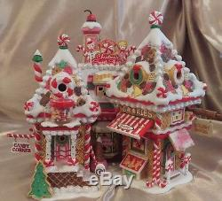 Dept 56 North Pole Christmas Sweet Shop Retired Limited Edition RARE Village
