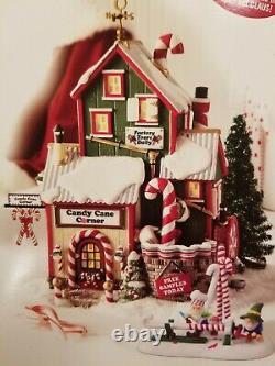 Dept 56 North Pole Christmas Village CANDY CANE CORNER 56.56952. Brand New