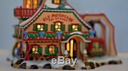 Dept. 56 North Pole Elf Mountain Ski Resort Christmas Village Retired Decor