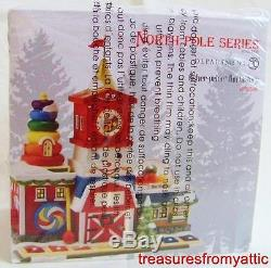Dept 56 North Pole FISHER PRICE FUN FACTORY #4036546 NRFB Village coord toys lil