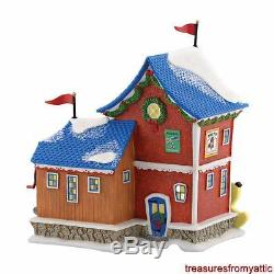 Dept 56 North Pole FISHER PRICE PULL TOY FACTORY #4050962 NRFB Village New 2016