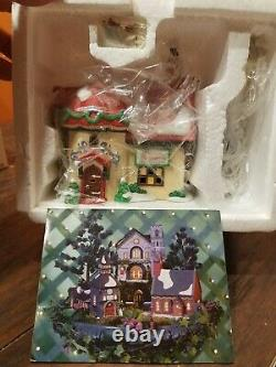 Dept 56 North Pole Grandma Bakery Custom Stitcher Elf Land Christmas Village Lot